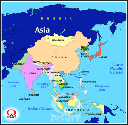 �A�W�A�n�}�p��2�@Map of Asia